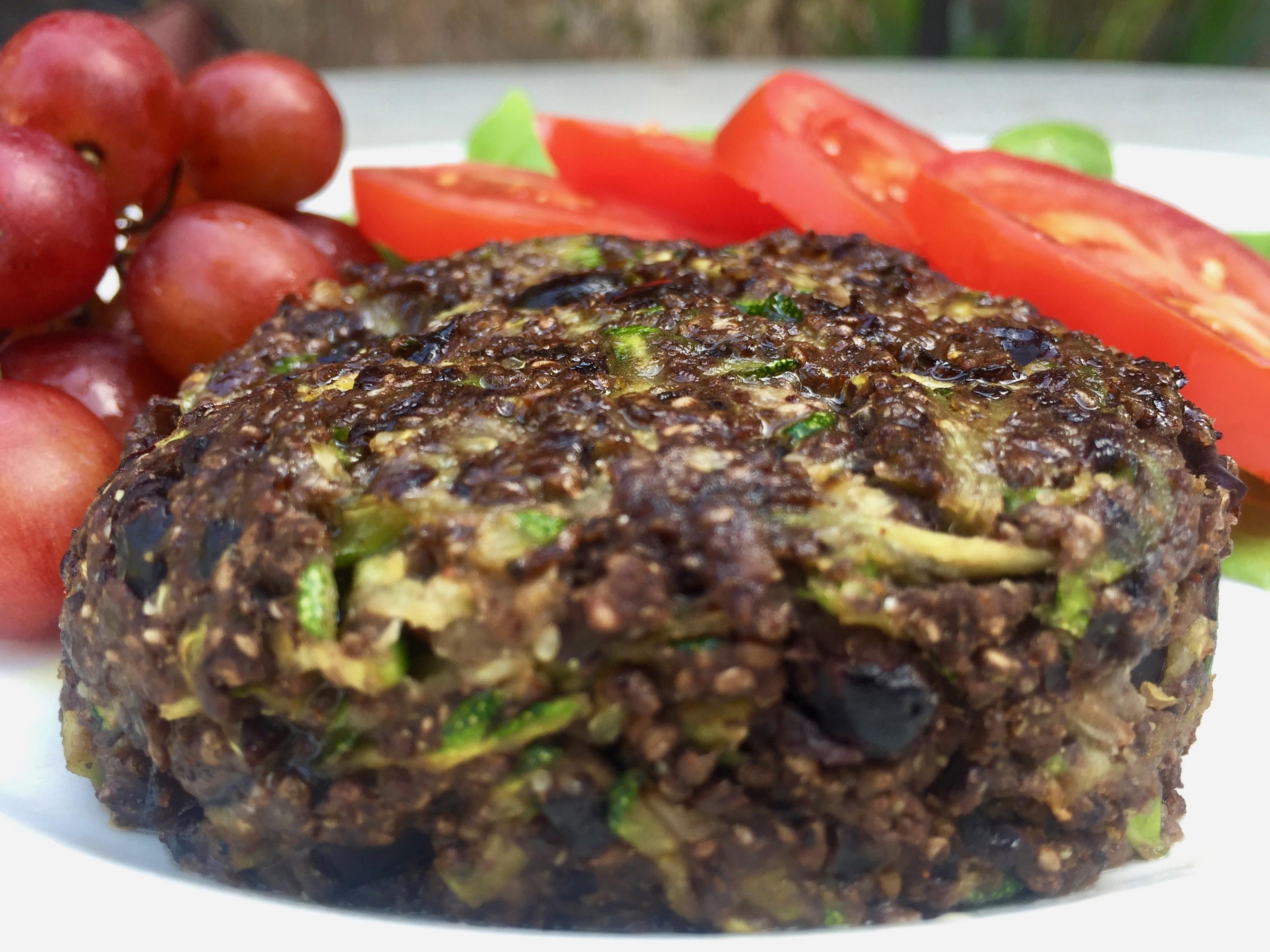 zucchini black bean burgers